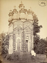 Chandranatha-Shiva Temple at Hetampur, Birbhum District.